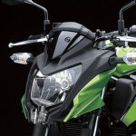 2014 Kawasaki Z250 SL press shots headlight