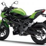 2014 Kawasaki Z250 SL press shots rear quarter