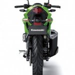 2014 Kawasaki Z250 SL press shots rear