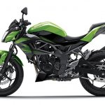 2014 Kawasaki Z250 SL press shots side