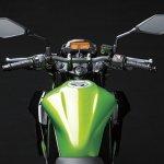 2014 Kawasaki Z250 SL press shots tank