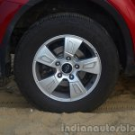2014 Mahindra XUV500 Review alloy wheel