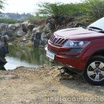 2014 Mahindra XUV500 Review front bumper