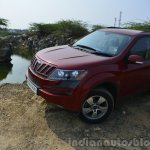 2014 Mahindra XUV500 Review front quarter view