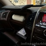 2014 Mahindra XUV500 Review glovebox
