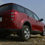 2014 Mahindra XUV500 Review rear quarter view