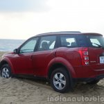 2014 Mahindra XUV500 Review rear three quarters