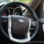 2014 Mahindra XUV500 Review steering