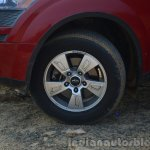 2014 Mahindra XUV500 Review wheel
