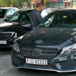 2015 Smart ForTwo IAB spied with C Class estate