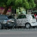 2015 Smart ForTwo IAB spied with CLA and C Class
