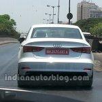 Audi A3 sedan spyshot rear 2.0 TDI variant