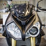 BMW S1000R headlamp India launch