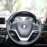 BMW X5 steering