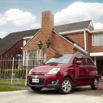 Chevrolet Spark Life front three quarters