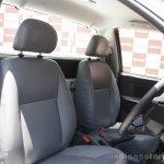 Isuzu D-max launch seats