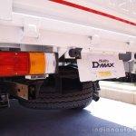 Isuzu D-max launch taillamps