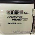 Mahindra Scorpio special edition badge