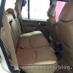 Mahindra Scorpio special edition rear seat