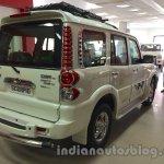 Mahindra Scorpio special edition rear three quarters right