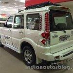 Mahindra Scorpio special edition rear three quarters