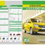 Maruti Celerio CNG brochure 2