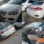 Maruti Ciaz production version without camo spied China