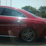 Mercedes CLA 45 AMG spied in India rear