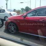 Mercedes CLA 45 AMG spied in India