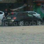 Mercedes CLA Shooting Brake IAB spied rear quarter
