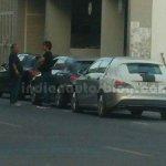 Mercedes CLA Shooting Brake IAB spied rear