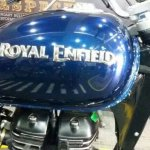Royal Enfield new logo spyshot