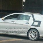 Spied Mercedes CLA Shooting Brake rear quarter