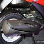 Suzuki Let's - exhaust
