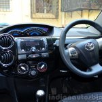 Toyota Etios Cross Review cabin