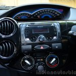 Toyota Etios Cross Review center console