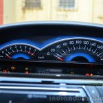 Toyota Etios Cross Review cluster
