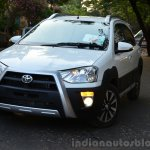 Toyota Etios Cross Review front quarter