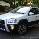 Toyota Etios Cross Review front quarters
