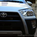 Toyota Etios Cross Review headlight cluster