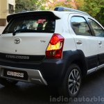 Toyota Etios Cross Review rear quarter