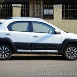 Toyota Etios Cross Review side
