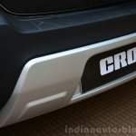 Toyota Etios Cross Review skid guard rear