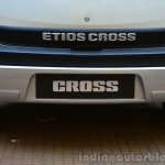 Toyota Etios Cross Review skid guard