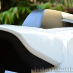 Toyota Etios Cross Review spoiler and roof rail