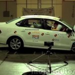 VW Vento crash test Asean NCAP crashes