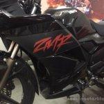 2014 Hero Karizma ZMR fairing spotted at dealership