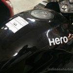 2014 Hero Karizma ZMR tank spotted at dealership
