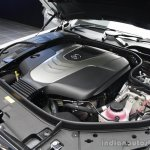 2014 Mercedes-Benz S Class S350 diesel launch engine of the car