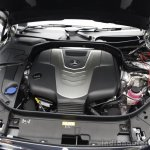 2014 Mercedes-Benz S Class S350 diesel launch engine